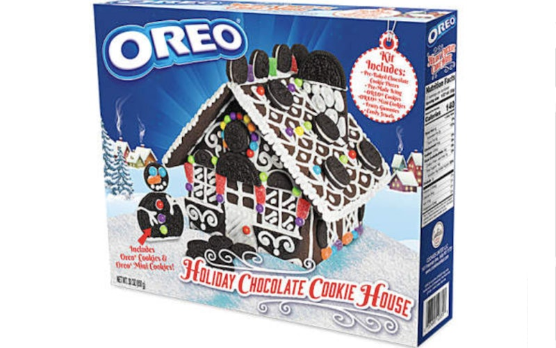 The Oreo Chocolate Cookie House at Big Lots.