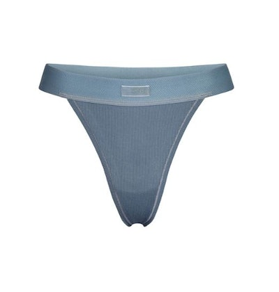 Cotton Rib Thong