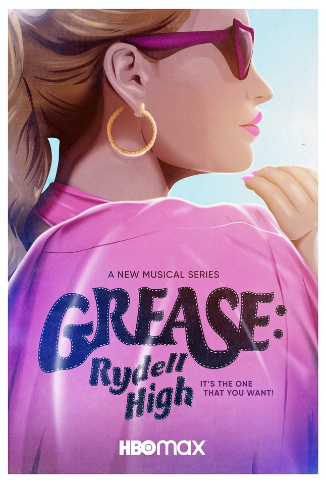 The Grease: Rydell high poster gives a fresh spin to a classic film
