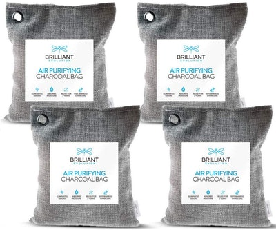 Brilliant Evolution Bamboo Charcoal Air Purifying Bags (4-Pack)