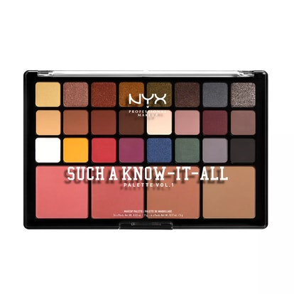NYX Professional Makeup Such A Know It All Eyeshadow & Blush Palette