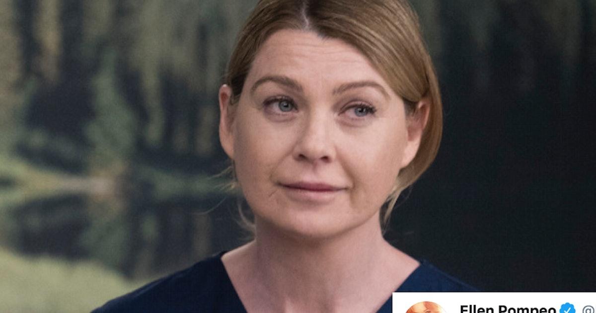 Ellen Pompeo's Tweet About Bailey Firing Meredith On 'Grey's Anatomy' Is Spot On