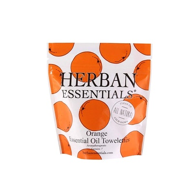 Herban Essentials Mini Towelettes (Pack of 7)