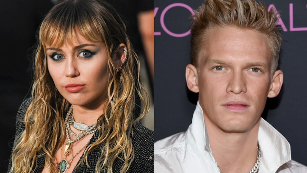 Miley Cyrus and Cody Simpson may be living together now