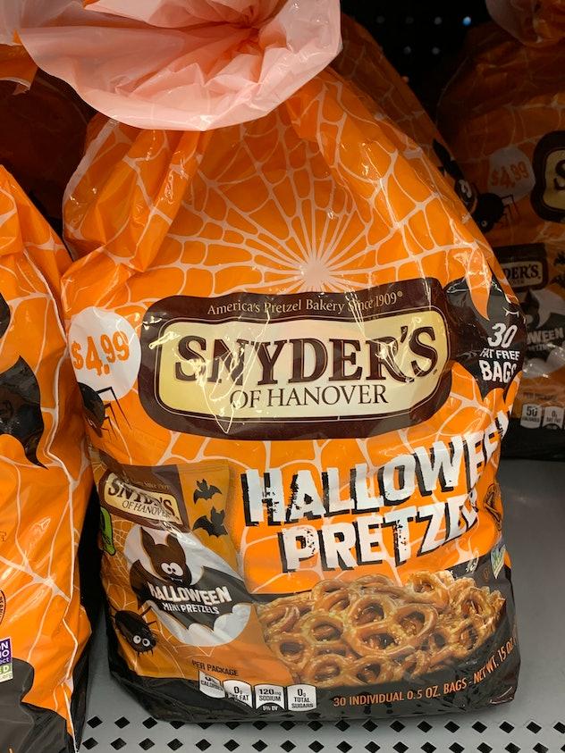 Snyder's of Hanover Halloween pretzels