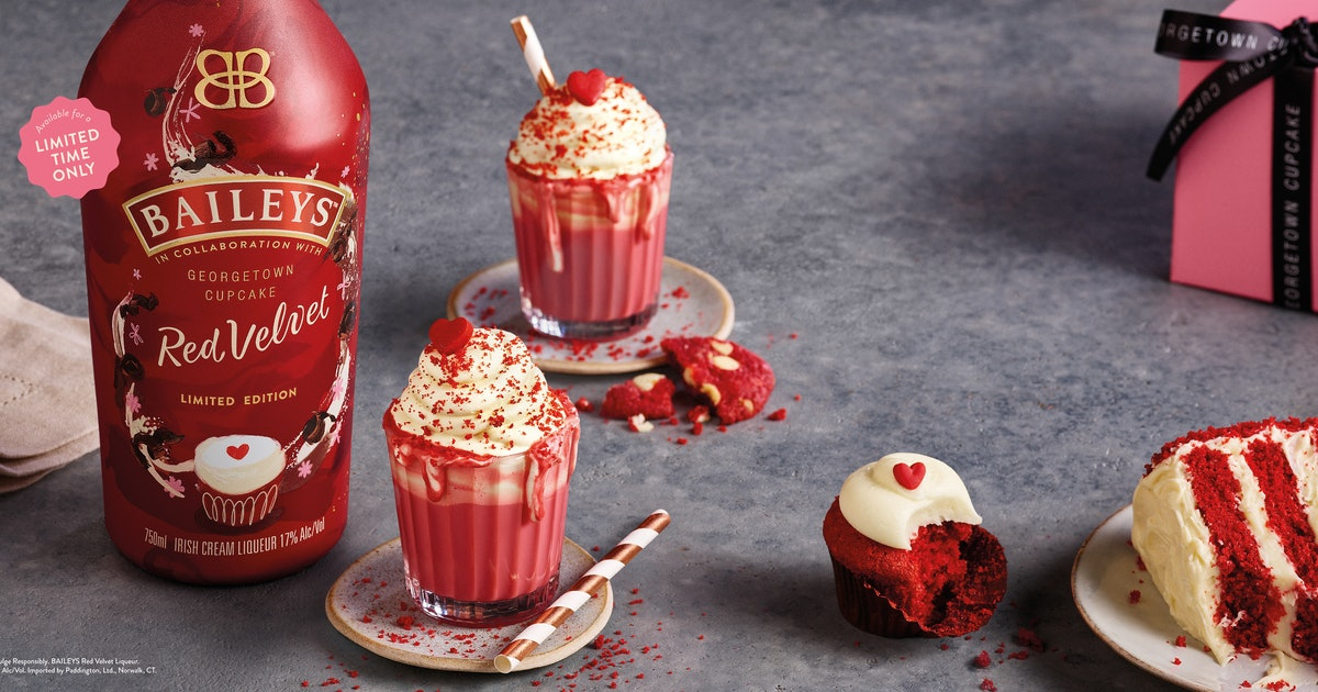 Baileys Red Velvet Is Hitting Shelves For A Limited Time