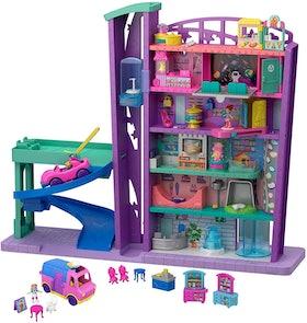 Polly Pocket Pollyville Mega Mall Super Pack (4+)