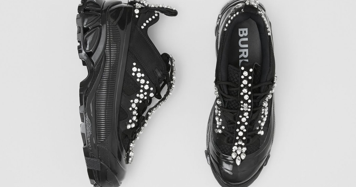 Burberry's Arthur Sneakers From The Fall/Winter 2019 Runway Are *Finally* Available For Pre-Order