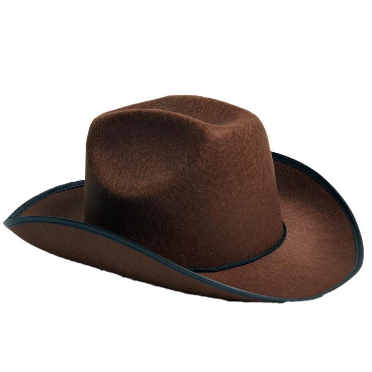 Century Novelty Brown Cowboy Hat