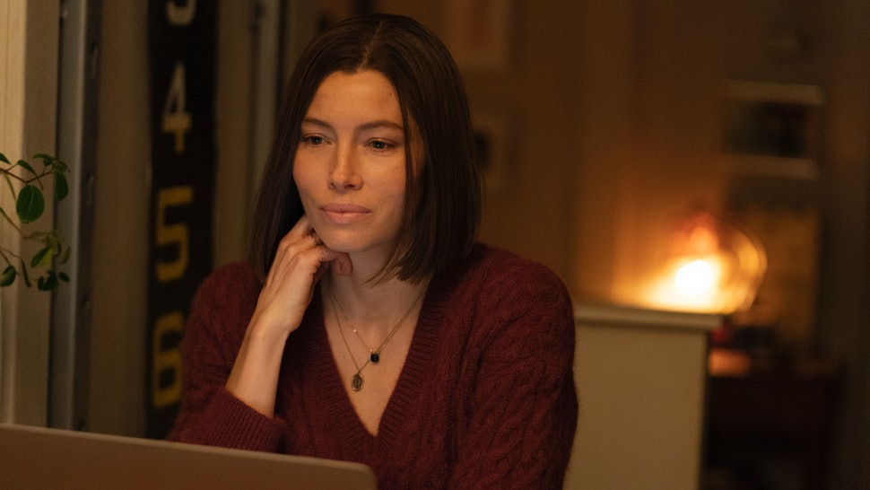 Jessica Biel stars as Lia Haddock in 'Limetown' on Facebook Watch.