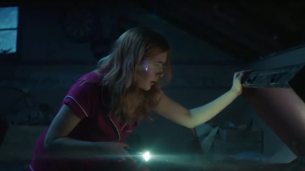 Nancy Drew attempting to learn about who killed Dead Lucy