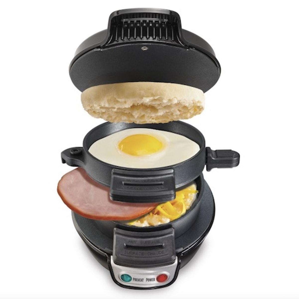 Hamilton Beach 25477 Breakfast Electric Sandwich Maker