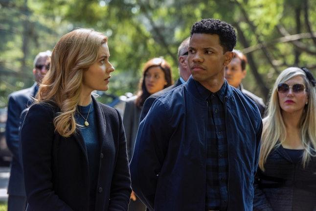 Kennedy McMann as Nancy and Tunji Kasim as Nick  on the CW's Nancy Drew.