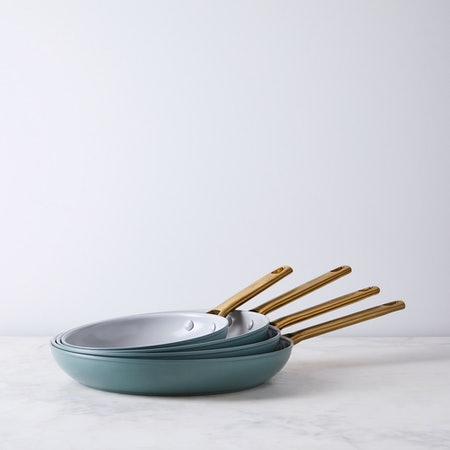 "Food52 X Greenpan Nonstick Skillet Set Of 8"" & 11"" Pans"