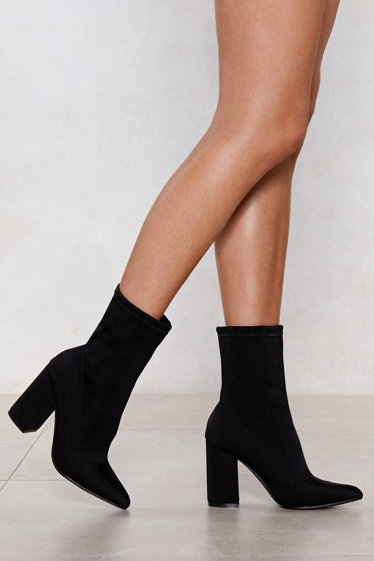 Sock It To Me Heeled Boot