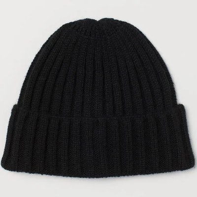 H&M Black Beanie Hat