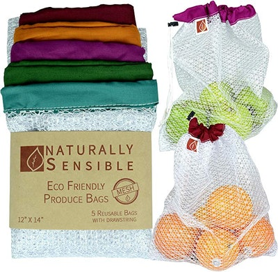 Naturally Sensible Reusable Produce Bags