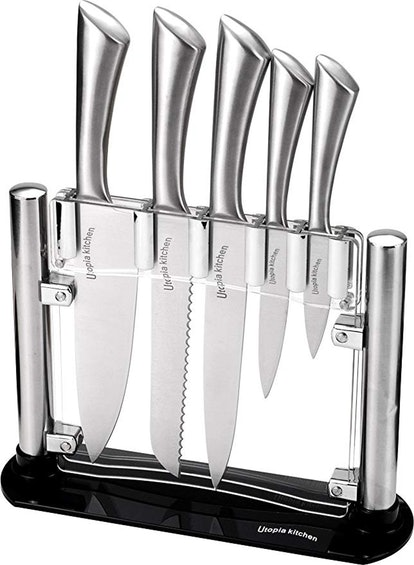 Utopia Kitchen Stainless Steel Knives Set (6-Piece Set)