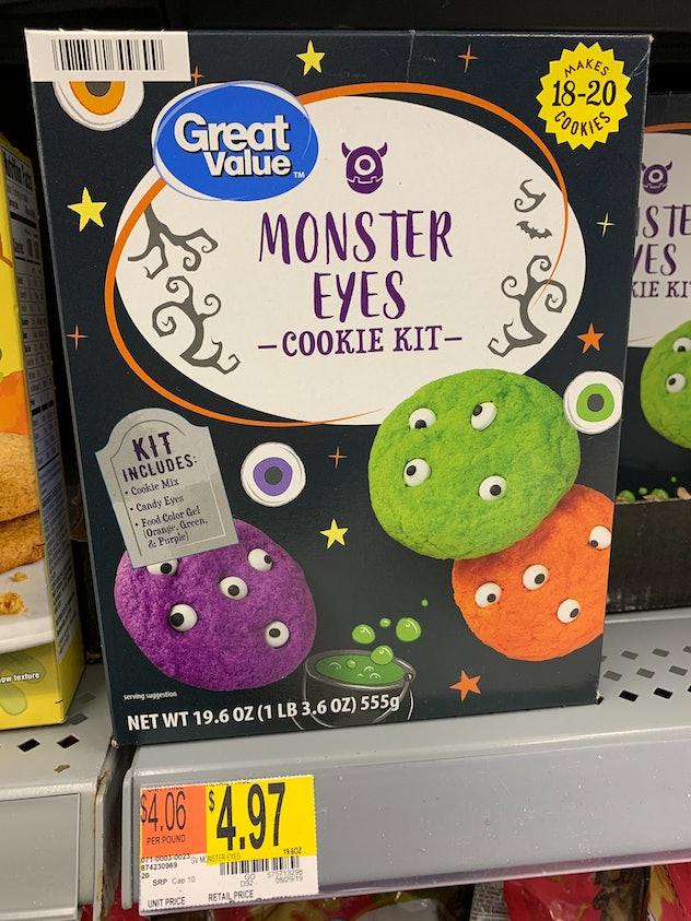 Monster Eyes Cookie Kit