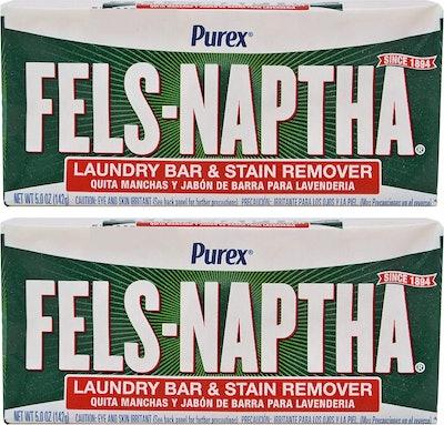Fels-Naptha Laundry Soap Bar (2-Pack)