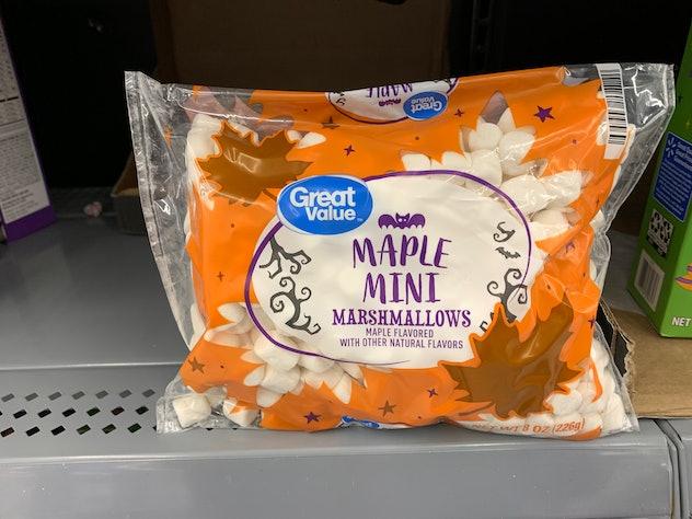 Maple Mini Marshmallows