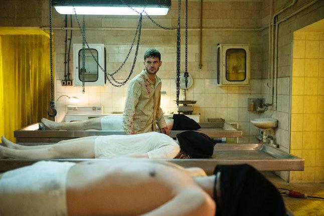 J. Randolph Bentley (Jeremy Irvine) makes an escape on 'Treadstone.'