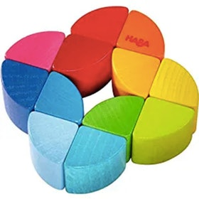 Haba Rainbow Ring Clutching Wooden Toy (6m+)