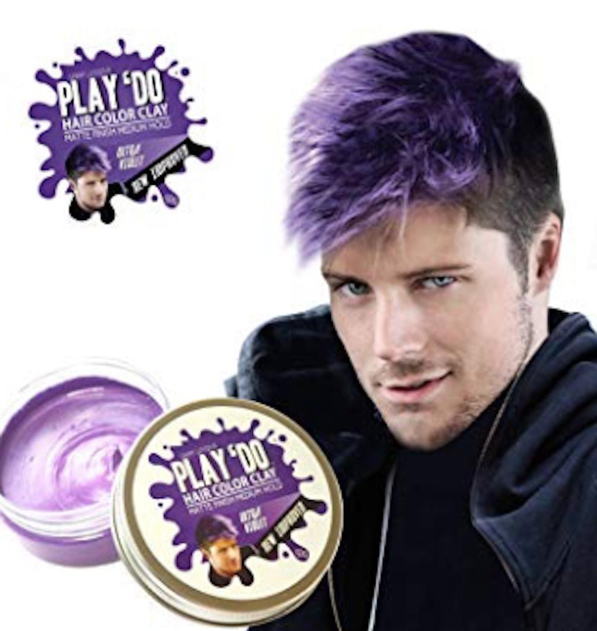 Play 'Do Temporary Hair Color, Hair Wax