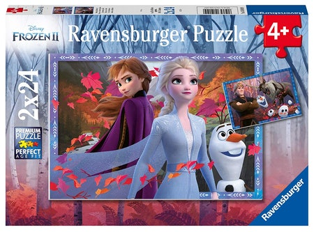 Frozen 2 Frosty Adventures Jigsaw Puzzle For Kids