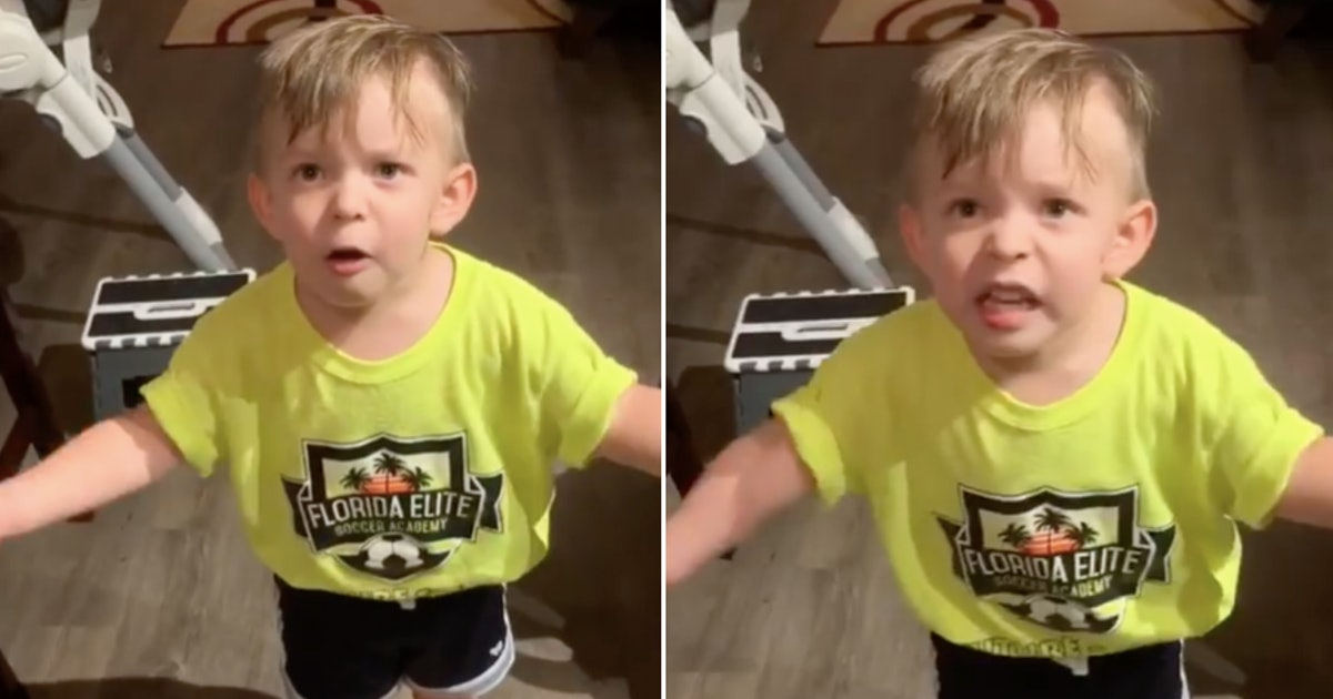 Mom Forgot To Kiss Toddler Goodbye & Oh Boy, He's Not Having It — VIDEO