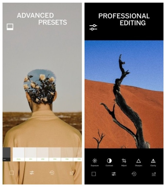 The VSCO photo editing app will make sure all your holiday memories are picture-perfect.