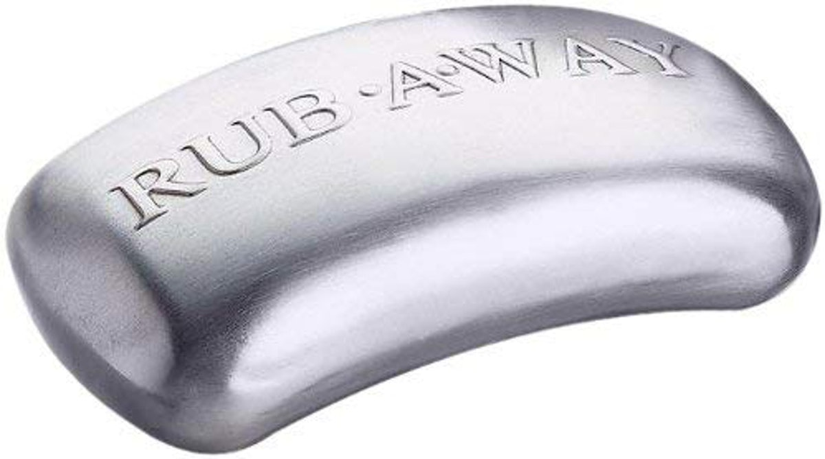 Amco 8402 Rub-a-Way Bar Stainless Steel Odor Absorber