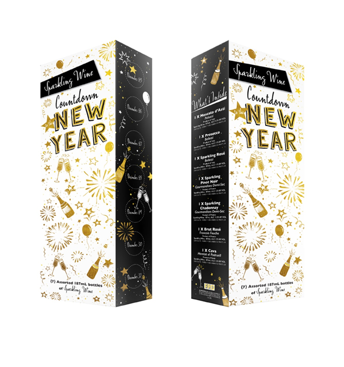Aldi's 2020 New Year's Countdown Calendar brings a festive sparkle to your countdown to New Year's Day.