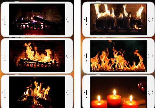 Live all your Yule Log dreams with the Fireplace Live HD app.