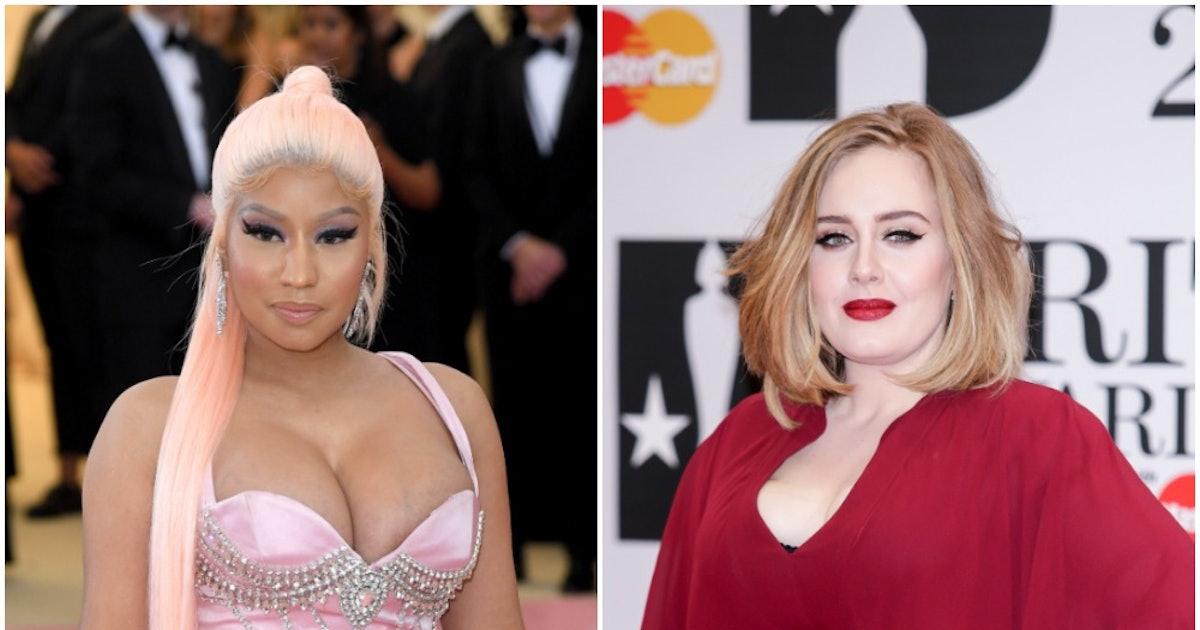 Are Adele & Nicki Minaj Collaborating? Nicki Spilled All The Details