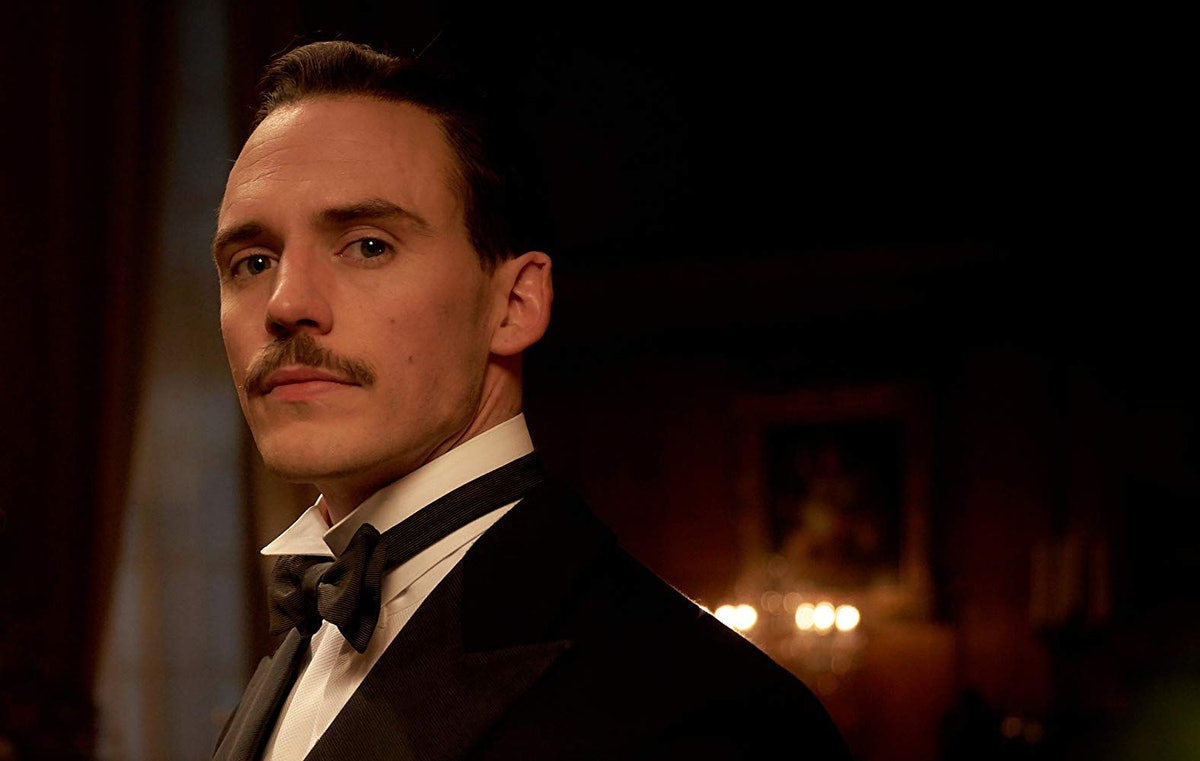 Sam Clafin as Sir Oswald Mosley in Peaky Blinders