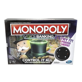 Monopoly Voice Banking Electronic Family Board Game (8+)