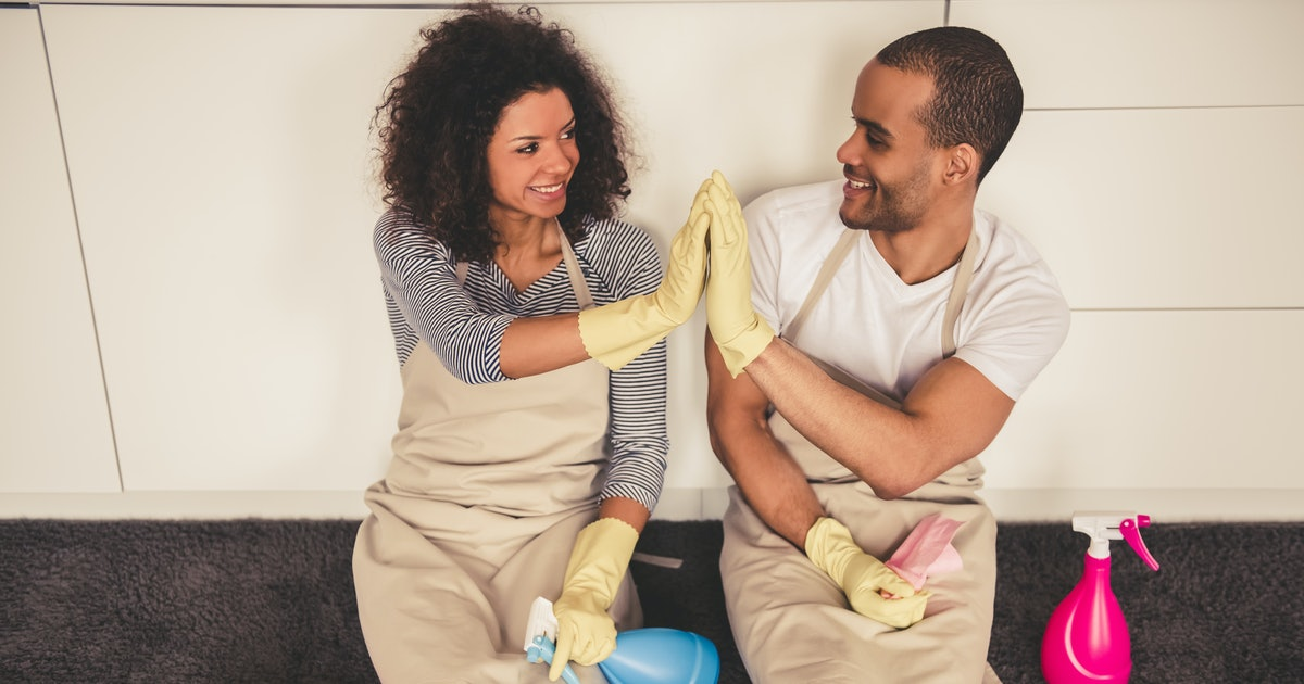 Dividing Chores With Your Partner Doesn't Have To Be A Nightmare