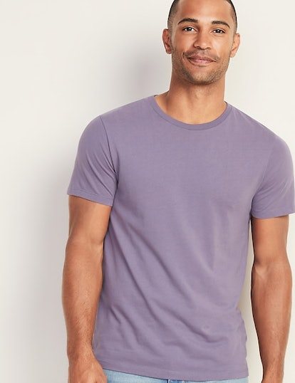 Soft-Washed Perfect-Fit Crew-Neck Tee