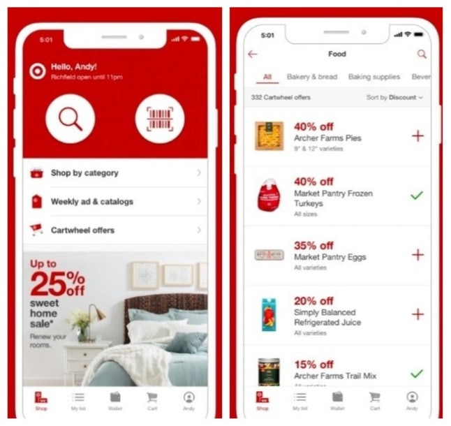 The Target app makes it easy to get your holiday shopping done.