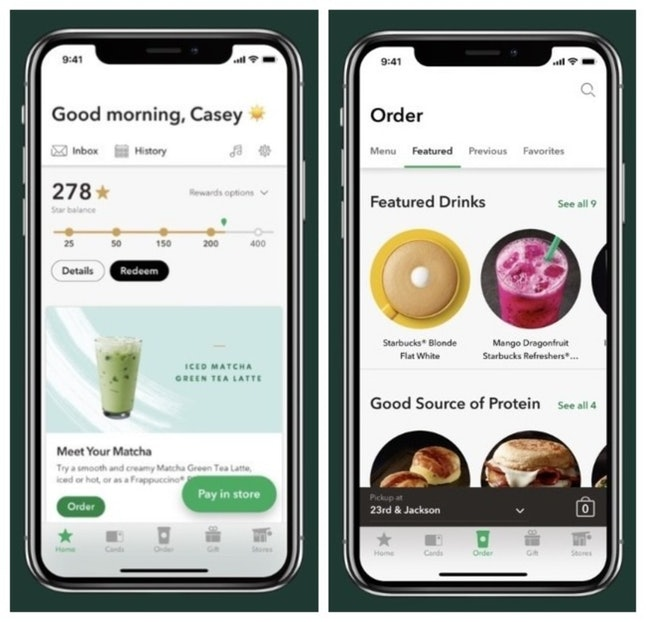 Download the Starbucks app before the winter drink menu debuts so you can enjoy your first Peppermint Mocha of the year ASAP.