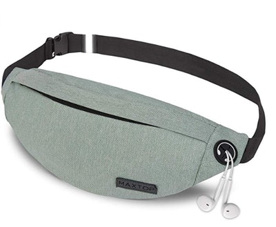 MaxTop Fanny Back With HeadPhone Jack