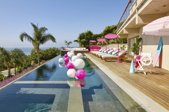 For the Barbie Dreamhouse Airbnb Experience, guests can rent a stay at the iconic dreamhouse for $60