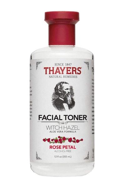 Thayers Alcohol-Free Rose Petal Witch Hazel Toner (12-oz Bottle)