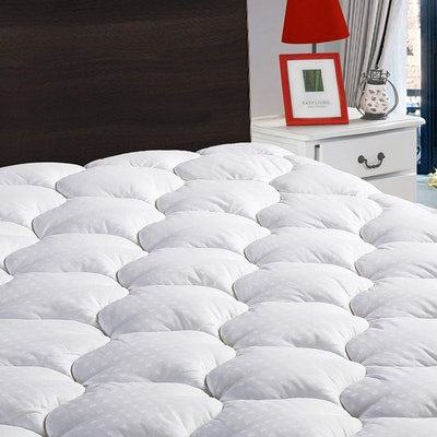 LEISURE TOWN Cooling Mattress Pad, Queen Size