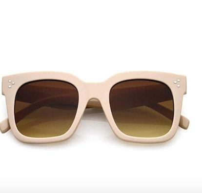 Retro Oversized Square Sunglasses