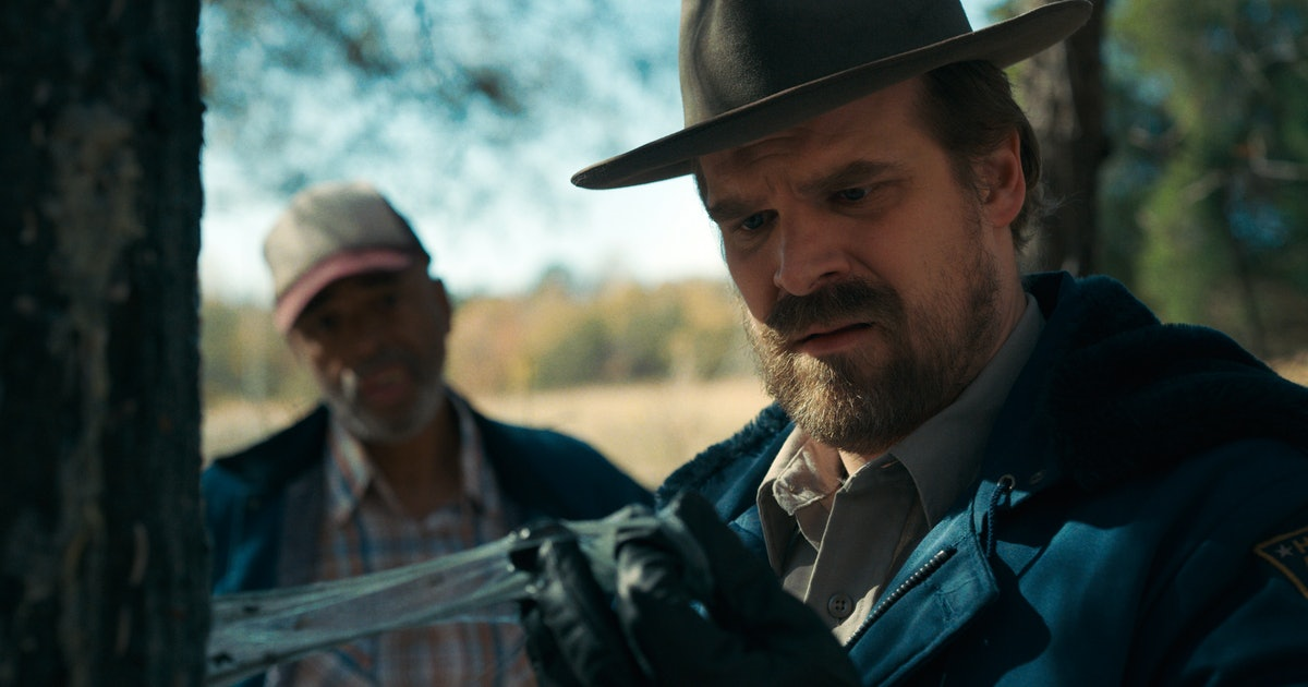 This 'Stranger Things 4' Set Piece Might Reveal Hopper's Fate