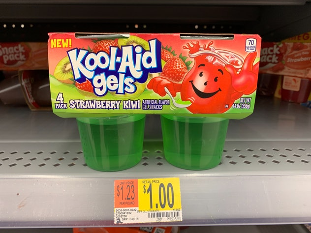 Kool-Aid Gels Strawberry Kiwi snack