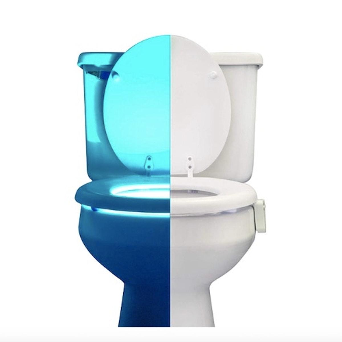 RainBowl Motion Sensor Toilet Night Light