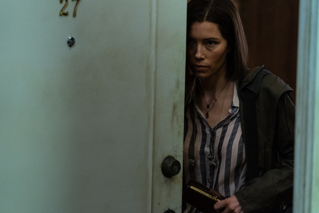 Jessica Biel as Lia Haddock In Limetown.